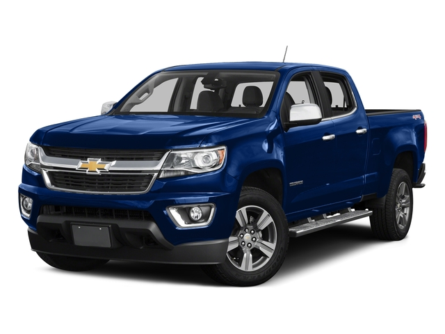 Laser Blue 2016 Chevrolet Colorado Pictures Colorado Crew Cab Z71 4WD photos front view