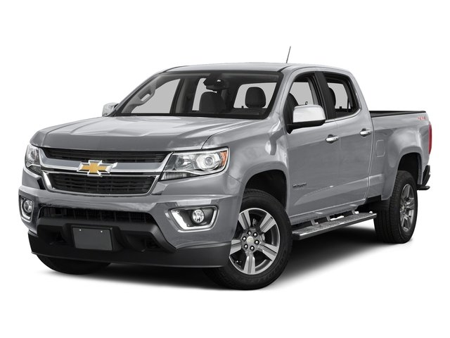 Silver Ice Metallic 2016 Chevrolet Colorado Pictures Colorado Crew Cab Z71 4WD photos front view