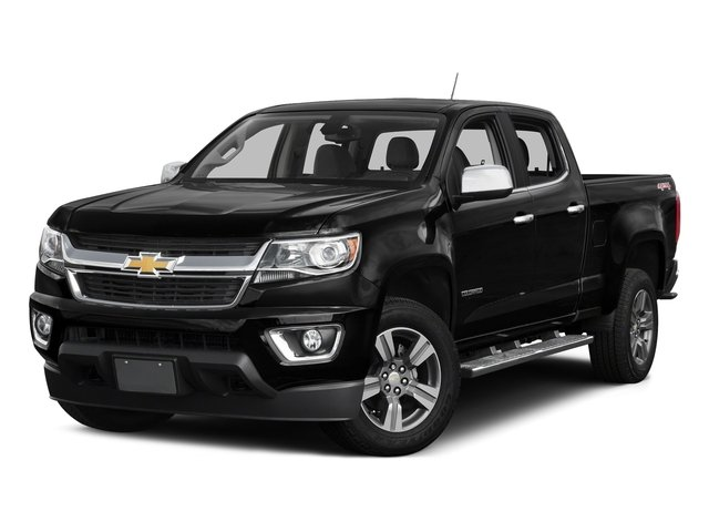 Black 2016 Chevrolet Colorado Pictures Colorado Crew Cab LT 4WD T-Diesel photos front view