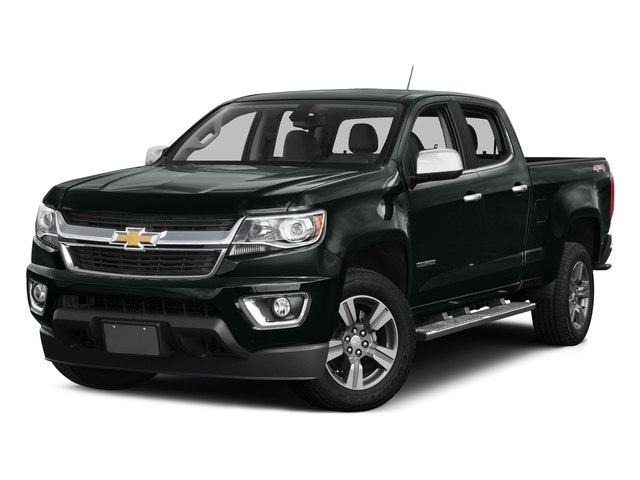 Cyber Gray Metallic 2016 Chevrolet Colorado Pictures Colorado Crew Cab LT 4WD T-Diesel photos front view