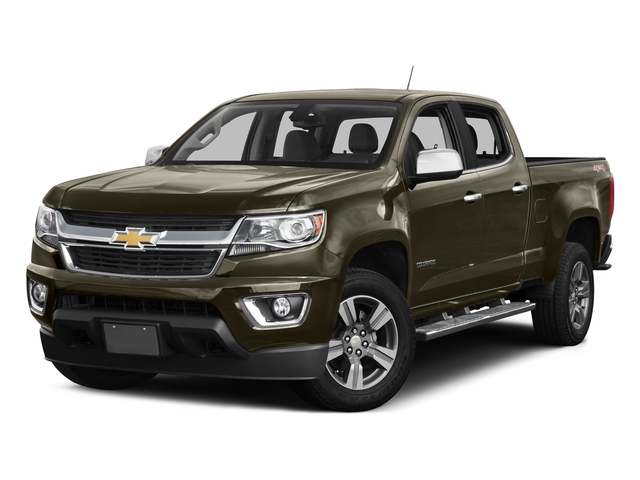 Brownstone Metallic 2016 Chevrolet Colorado Pictures Colorado Crew Cab Z71 4WD photos front view