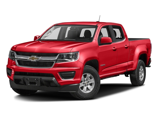 Red Hot 2016 Chevrolet Colorado Pictures Colorado Crew Cab Work Truck 2WD T-Diesel photos front view