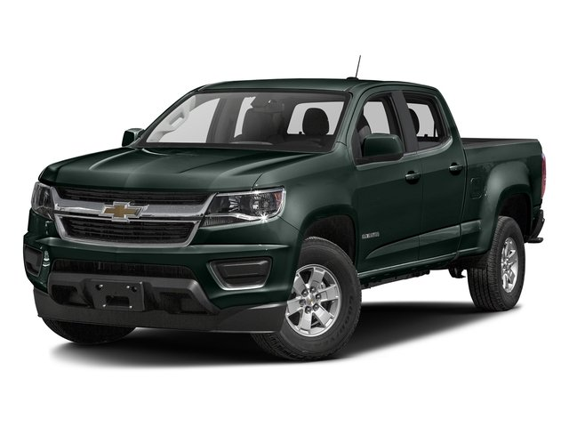 Rainforest Green Metallic 2016 Chevrolet Colorado Pictures Colorado Crew Cab Work Truck 2WD T-Diesel photos front view
