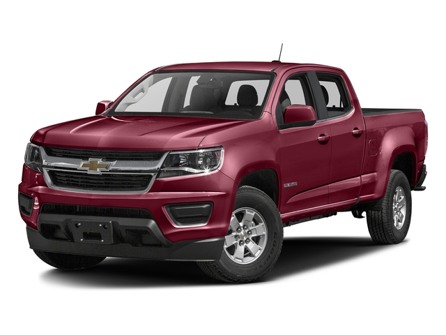 Red Rock Metallic 2016 Chevrolet Colorado Pictures Colorado Crew Cab Work Truck 2WD T-Diesel photos front view