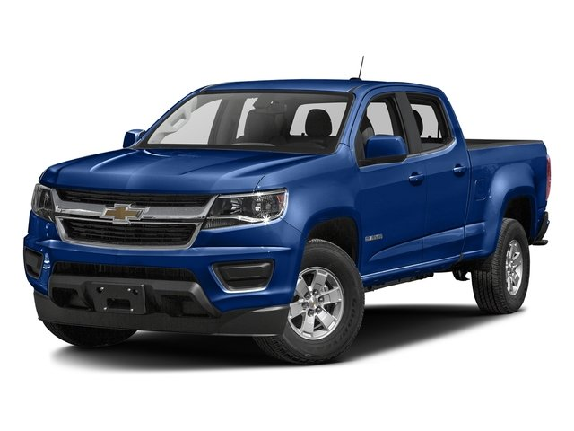 Laser Blue 2016 Chevrolet Colorado Pictures Colorado Crew Cab Work Truck 2WD T-Diesel photos front view