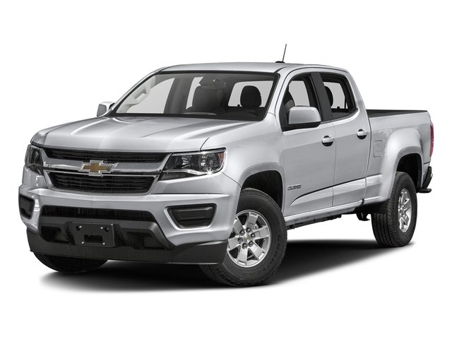 Silver Ice Metallic 2016 Chevrolet Colorado Pictures Colorado Crew Cab Work Truck 2WD T-Diesel photos front view