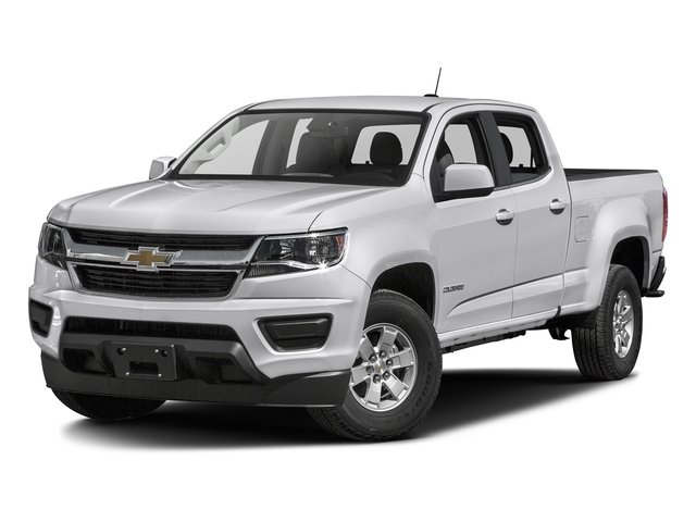 Summit White 2016 Chevrolet Colorado Pictures Colorado Crew Cab Work Truck 2WD T-Diesel photos front view