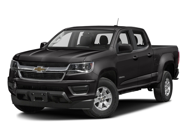 Black 2016 Chevrolet Colorado Pictures Colorado Crew Cab Work Truck 2WD T-Diesel photos front view