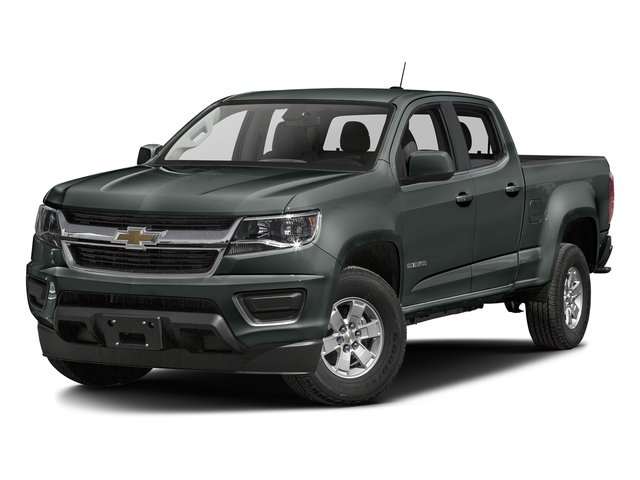 Cyber Gray Metallic 2016 Chevrolet Colorado Pictures Colorado Crew Cab Work Truck 2WD T-Diesel photos front view