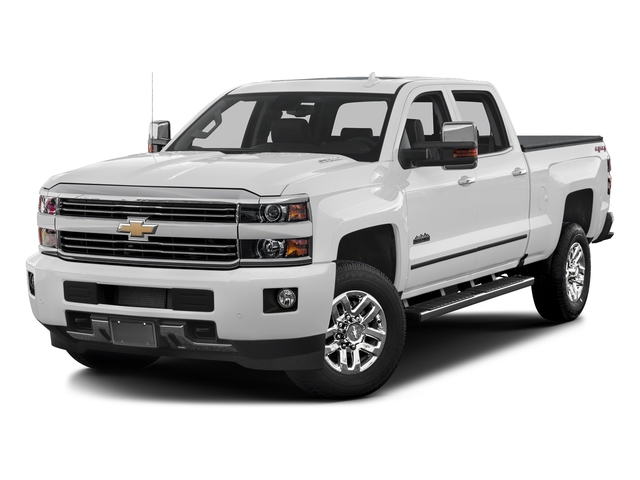 Summit White 2016 Chevrolet Silverado 3500HD Pictures Silverado 3500HD Crew Cab High Country 2WD photos front view