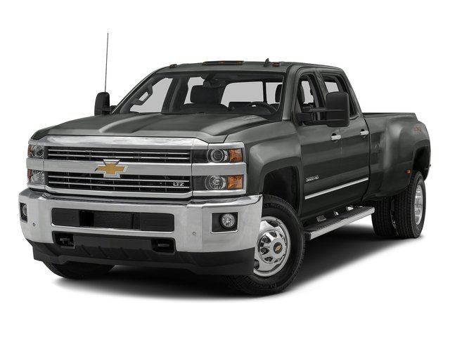 Slate Grey Metallic 2016 Chevrolet Silverado 3500HD Pictures Silverado 3500HD Crew Cab Work Truck 4WD photos front view