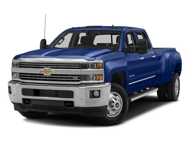 Deep Ocean Blue Metallic 2016 Chevrolet Silverado 3500HD Pictures Silverado 3500HD Crew Cab Work Truck 4WD photos front view