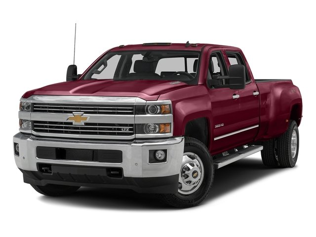 Butte Red Metallic 2016 Chevrolet Silverado 3500HD Pictures Silverado 3500HD Crew Cab Work Truck 2WD photos front view