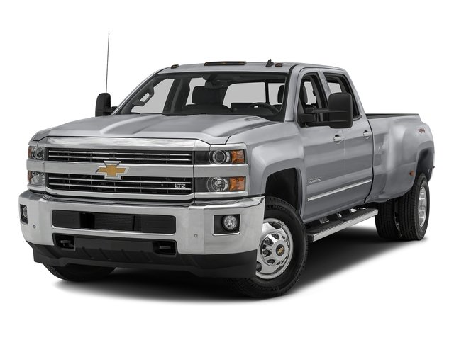 Silver Ice Metallic 2016 Chevrolet Silverado 3500HD Pictures Silverado 3500HD Crew Cab Work Truck 4WD photos front view