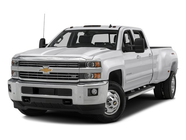 Summit White 2016 Chevrolet Silverado 3500HD Pictures Silverado 3500HD Crew Cab Work Truck 2WD photos front view
