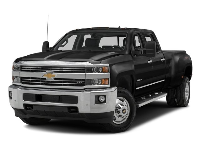 Black 2016 Chevrolet Silverado 3500HD Pictures Silverado 3500HD Crew Cab Work Truck 2WD photos front view