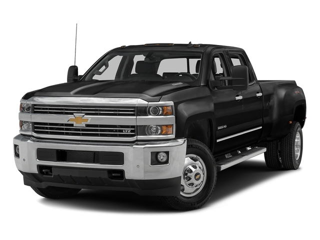 Black 2016 Chevrolet Silverado 3500HD Pictures Silverado 3500HD Crew Cab Work Truck 4WD photos front view