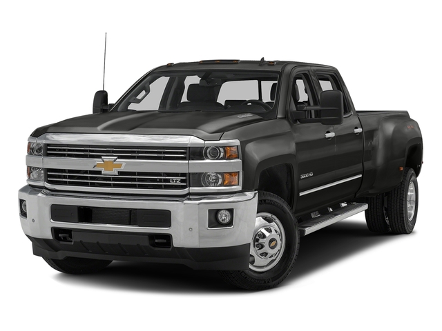 Tungsten Metallic 2016 Chevrolet Silverado 3500HD Pictures Silverado 3500HD Crew Cab Work Truck 2WD photos front view