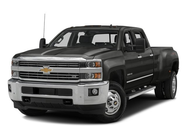 Tungsten Metallic 2016 Chevrolet Silverado 3500HD Pictures Silverado 3500HD Crew Cab Work Truck 4WD photos front view