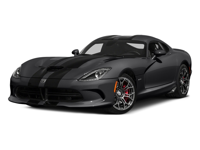 Gunmetal Pearl 2016 Dodge Viper Pictures Viper 2 Door Coupe photos front view