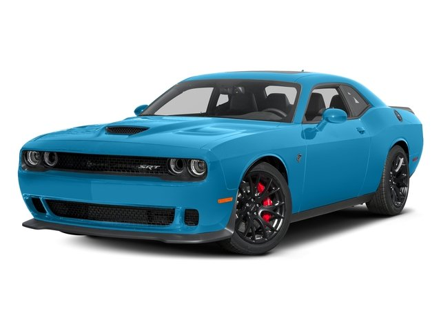 B5 Blue Pearlcoat 2016 Dodge Challenger Pictures Challenger Coupe 2D SRT Hellcat V8 Supercharged photos front view