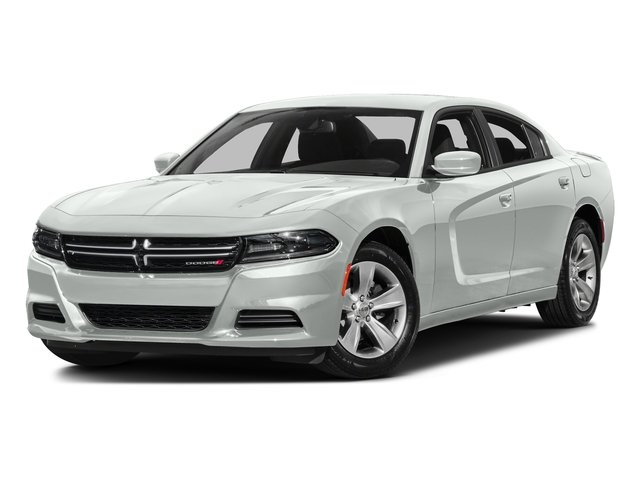 Bright White Clearcoat 2016 Dodge Charger Pictures Charger Sedan 4D SE AWD V6 photos front view