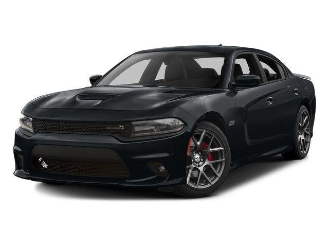Maximum Steel Metallic Clearcoat 2016 Dodge Charger Pictures Charger Sedan 4D R/T Scat Pack V8 photos front view