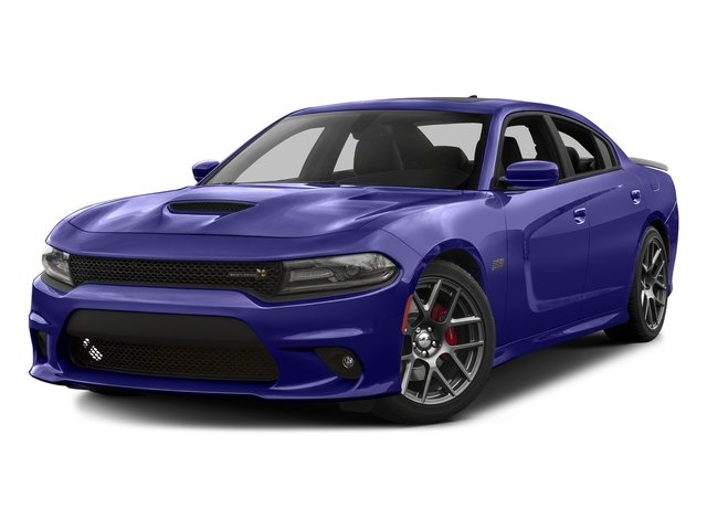 Plum Crazy Pearlcoat 2016 Dodge Charger Pictures Charger Sedan 4D R/T Scat Pack V8 photos front view