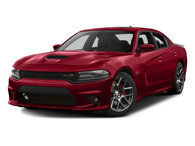 Redline Red Tricoat Pearl 2016 Dodge Charger Pictures Charger Sedan 4D R/T Scat Pack V8 photos front view
