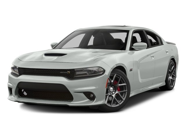Bright White Clearcoat 2016 Dodge Charger Pictures Charger Sedan 4D R/T Scat Pack V8 photos front view