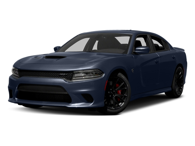 Jazz Blue Pearlcoat 2016 Dodge Charger Pictures Charger Sedan 4D SRT Hellcat V8 Supercharged photos front view