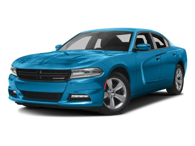 B5 Blue Pearlcoat 2016 Dodge Charger Pictures Charger Sedan 4D SXT V6 photos front view