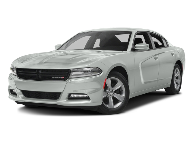 Bright White Clearcoat 2016 Dodge Charger Pictures Charger Sedan 4D SXT AWD V6 photos front view