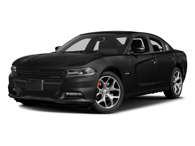 Pitch Black Clearcoat 2016 Dodge Charger Pictures Charger Sedan 4D R/T Road & Track V8 photos front view