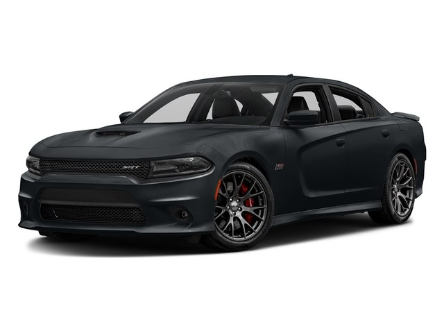 Maximum Steel Metallic Clearcoat 2016 Dodge Charger Pictures Charger Sedan 4D SRT 392 V8 photos front view