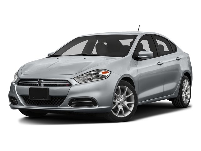 Billet Silver Metallic Clearcoat 2016 Dodge Dart Pictures Dart Sedan 4D SE I4 photos front view