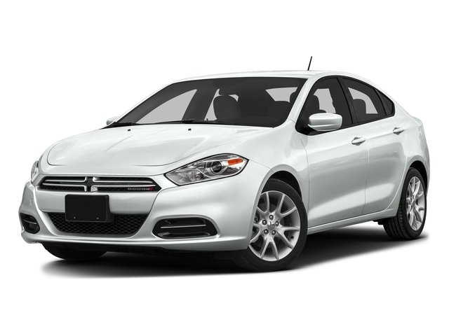 Bright White Clearcoat 2016 Dodge Dart Pictures Dart Sedan 4D SXT Sport I4 photos front view