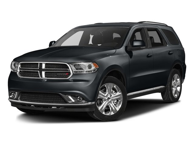 Maximum Steel Metallic Clearcoat 2016 Dodge Durango Pictures Durango Utility 4D Limited AWD V6 photos front view