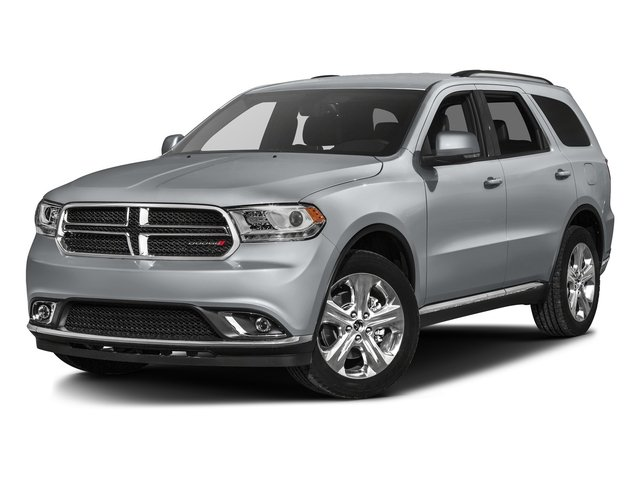 Billet Silver Metallic Clearcoat 2016 Dodge Durango Pictures Durango Utility 4D Limited AWD V6 photos front view