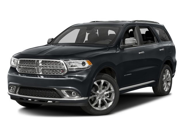 Maximum Steel Metallic Clearcoat 2016 Dodge Durango Pictures Durango Utility 4D Citadel AWD V6 photos front view
