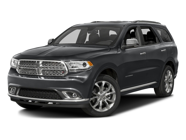 Granite Crystal Metallic Clearcoat 2016 Dodge Durango Pictures Durango Utility 4D Citadel AWD V6 photos front view