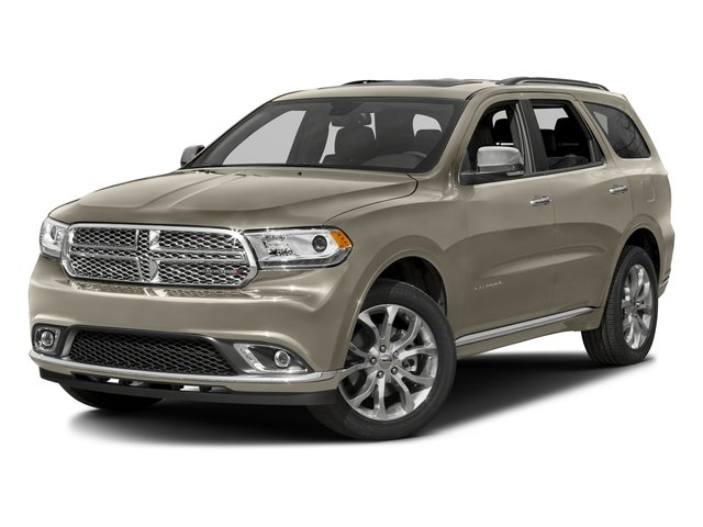 Light Brownstone Pearlcoat 2016 Dodge Durango Pictures Durango Utility 4D Citadel AWD V6 photos front view