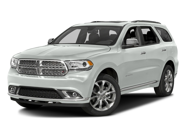 Bright White Clearcoat 2016 Dodge Durango Pictures Durango Utility 4D Citadel AWD V6 photos front view