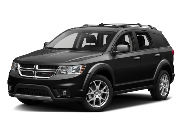 Pitch Black Clearcoat 2016 Dodge Journey Pictures Journey Utility 4D R/T 2WD V6 photos front view
