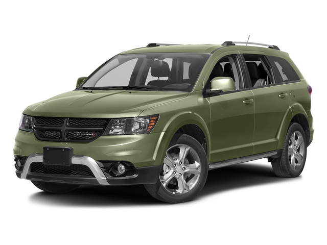 Verde Oliva (Olive Green) 2016 Dodge Journey Pictures Journey Utility 4D Crossroad 2WD V6 photos front view