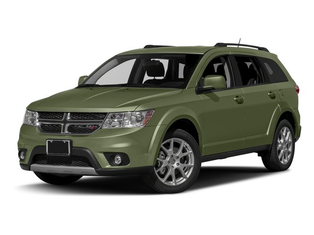 Verde Oliva (Olive Green) 2016 Dodge Journey Pictures Journey Utility 4D SXT AWD V6 photos front view