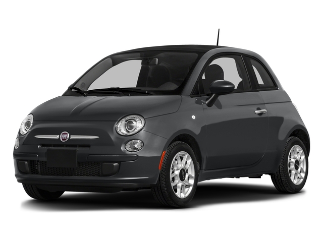 Granito Lucente (Granite Crystal) 2016 FIAT 500 Pictures 500 Hatchback 3D Lounge I4 photos front view