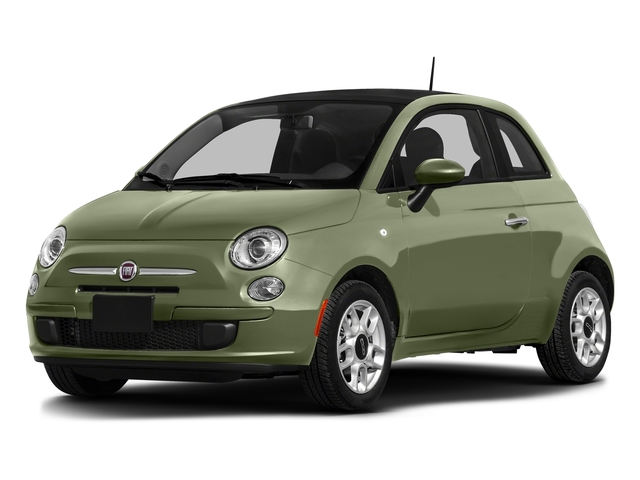 Verde Oliva (Olive Green) 2016 FIAT 500 Pictures 500 Hatchback 3D Lounge I4 photos front view