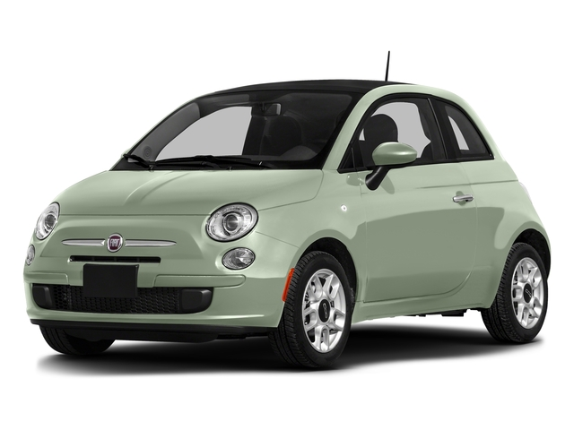 Latte Menta 2016 FIAT 500 Pictures 500 Hatchback 3D Lounge I4 photos front view