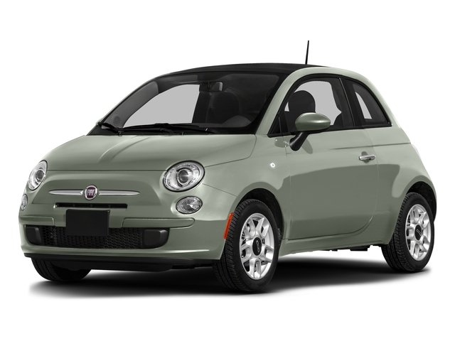 Verde Chiaro (Light Green) 2016 FIAT 500 Pictures 500 Hatchback 3D Lounge I4 photos front view